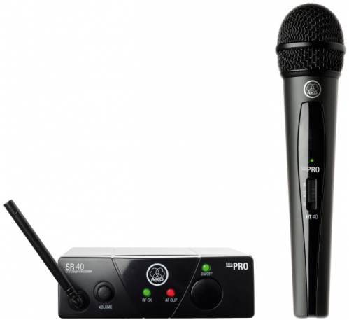 WMS40 Mini Single Vocal Set Wireless Microphone System (US45C)