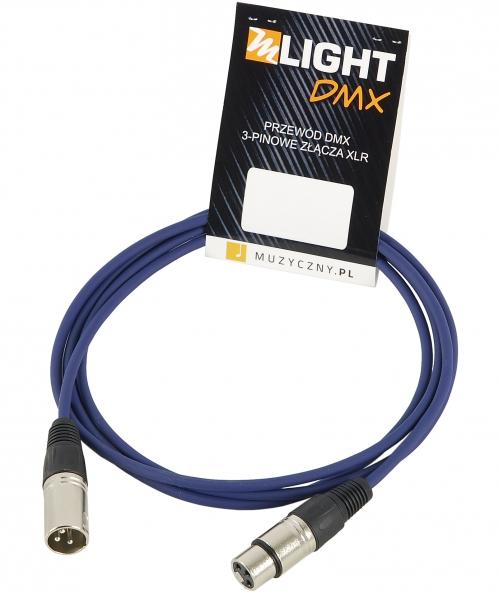 Mlight DMX 1 pair 110 Ohm 2m DMX 3-pin XLR XLR cable