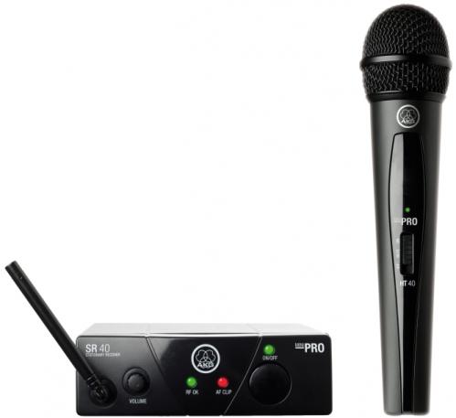 WMS40 Mini Single Vocal Set Wireless Microphone System (US45A)