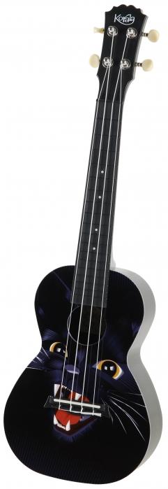 Korala PUC30-001 concert ukulele Black Panther