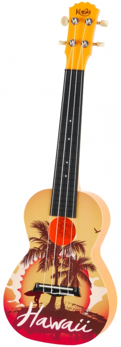 Korala PUC 30-008 concert ukulele, Hawaii Orange