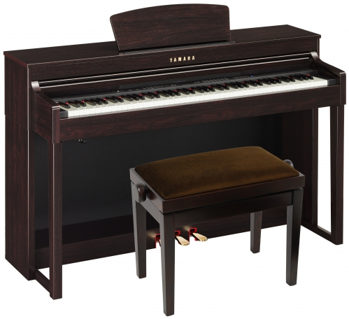 yamaha clp 430 r clavinova digital piano with seat for. Black Bedroom Furniture Sets. Home Design Ideas
