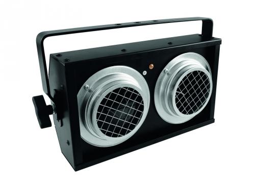Eurolite Blinder 2xPAR36 black, 1-channel DMX