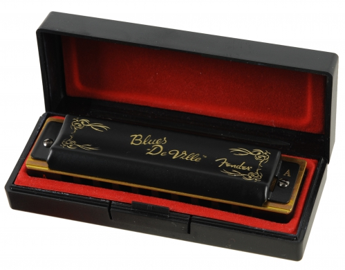 Fender Blues Deville A harmonica