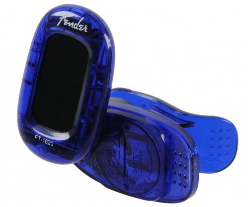 Fender FT-1620 California Lake Placid Blue guitar tuner