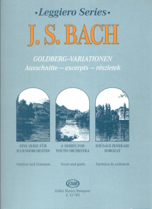 PWM Bach Johann Sebastian - Goldberg Variations for string orchestra