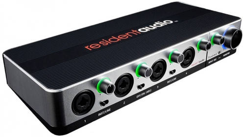 Resident Audio Thunderbolt T4 audio interface