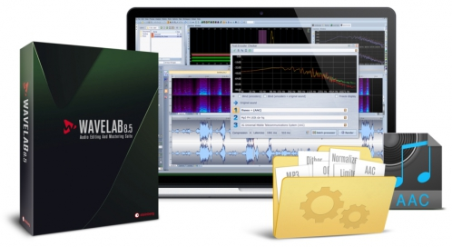 Steinberg Wave Lab 8.5 EDU software (educational version)