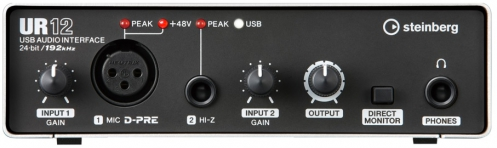Steinberg UR 12 audio interface USB 2.0