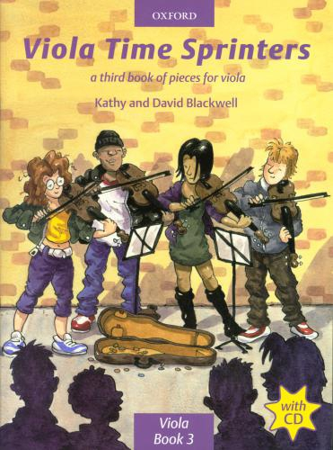 PWM Blackwell Kathy, David - Viola time sprinters. A third book of pieces for viola