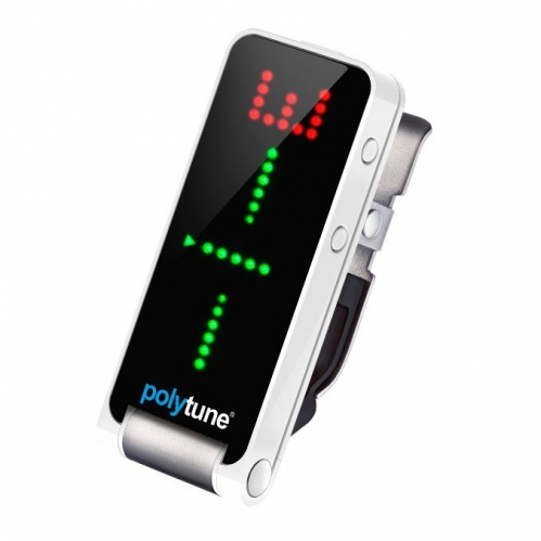 TC electronic PolyTune Clip polyphonic clip-on guitar tuner