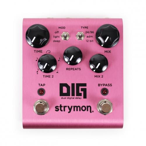 Strymon DIG dual digital delay guitar effect pedal