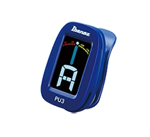 Ibanez PU 3 BL chromatic guitar tuner, blue