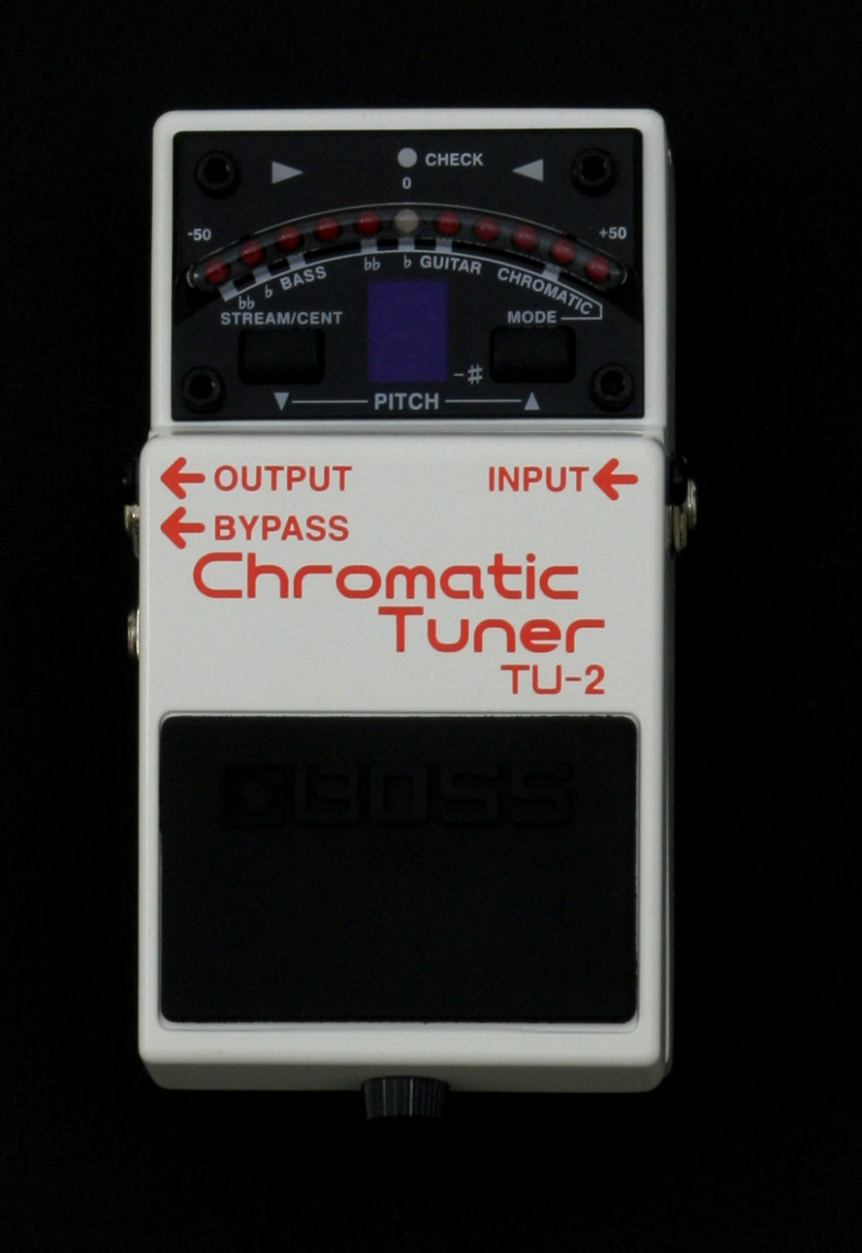 how to use a chromatic tuner for guitar