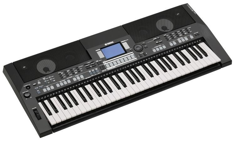 yamaha psr s550 b keyboard black. Black Bedroom Furniture Sets. Home Design Ideas