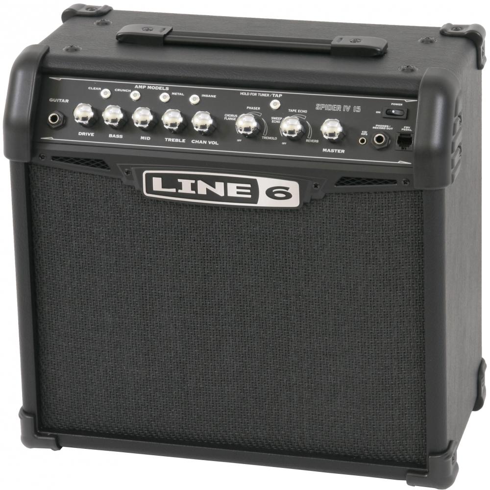 line6 spider iv 15 guitar amplifier. Black Bedroom Furniture Sets. Home Design Ideas