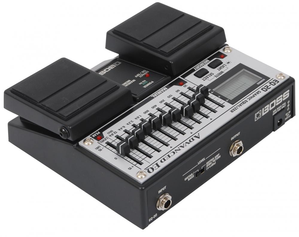 boss eq 20 equalizer guitar effect pedal. Black Bedroom Furniture Sets. Home Design Ideas