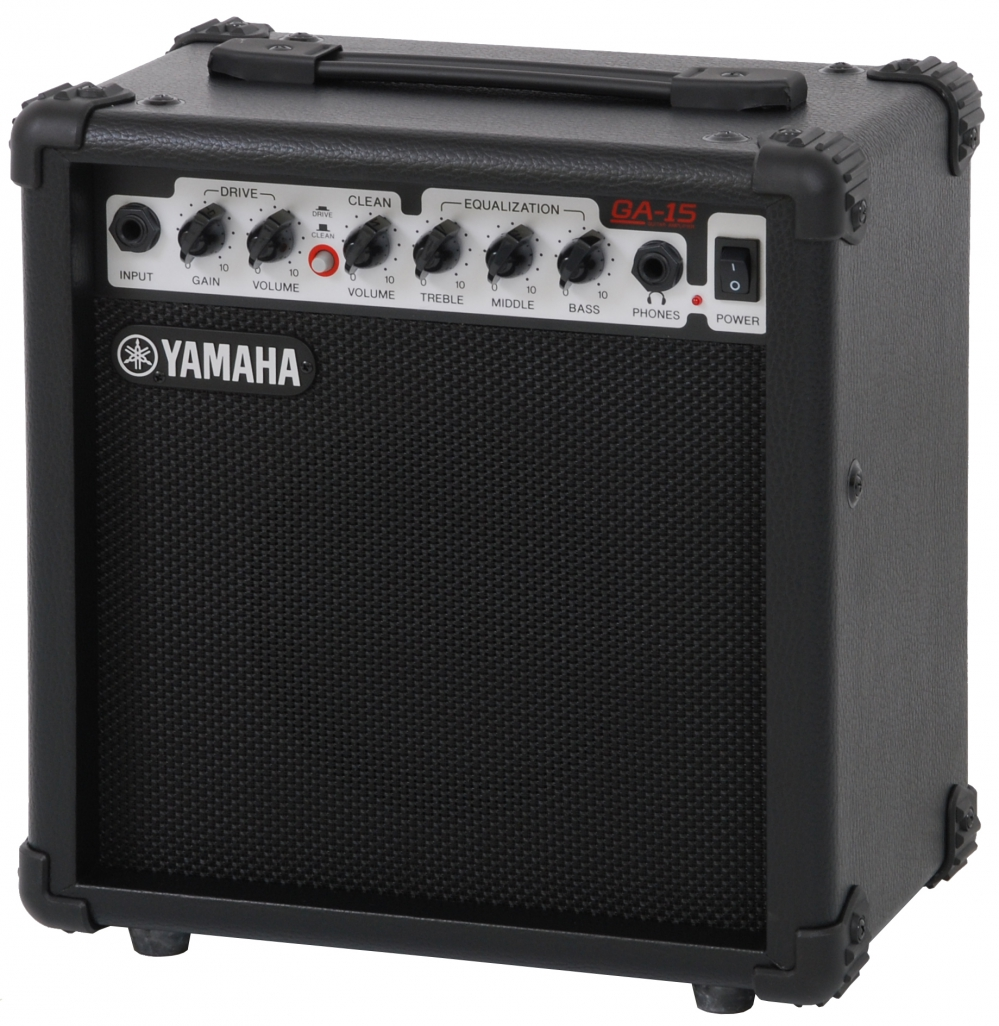 yamaha ga 15 guitar amplifier 15w. Black Bedroom Furniture Sets. Home Design Ideas