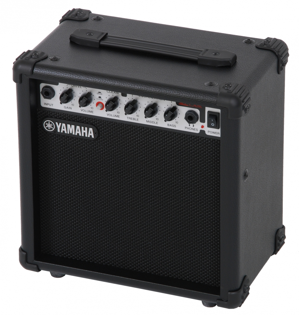 Yamaha ga 15 guitar amplifier 15w for Yamaha bass guitar amplifier