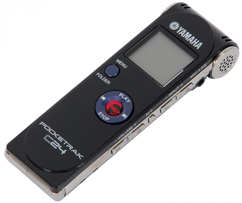 yamaha pocketrak c24 portable recorder