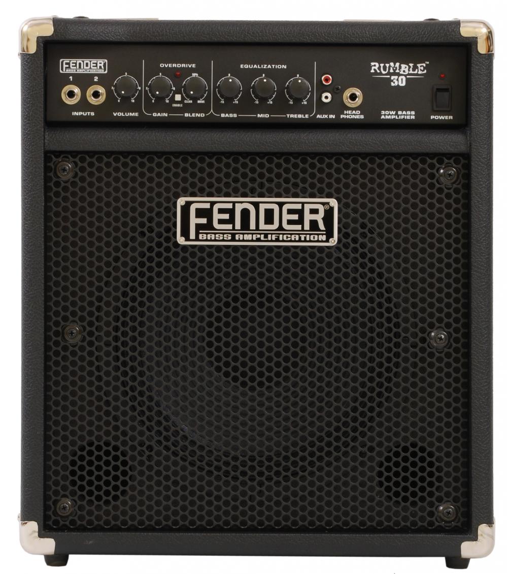 fender rumble 30 bass amplifier 30w. Black Bedroom Furniture Sets. Home Design Ideas