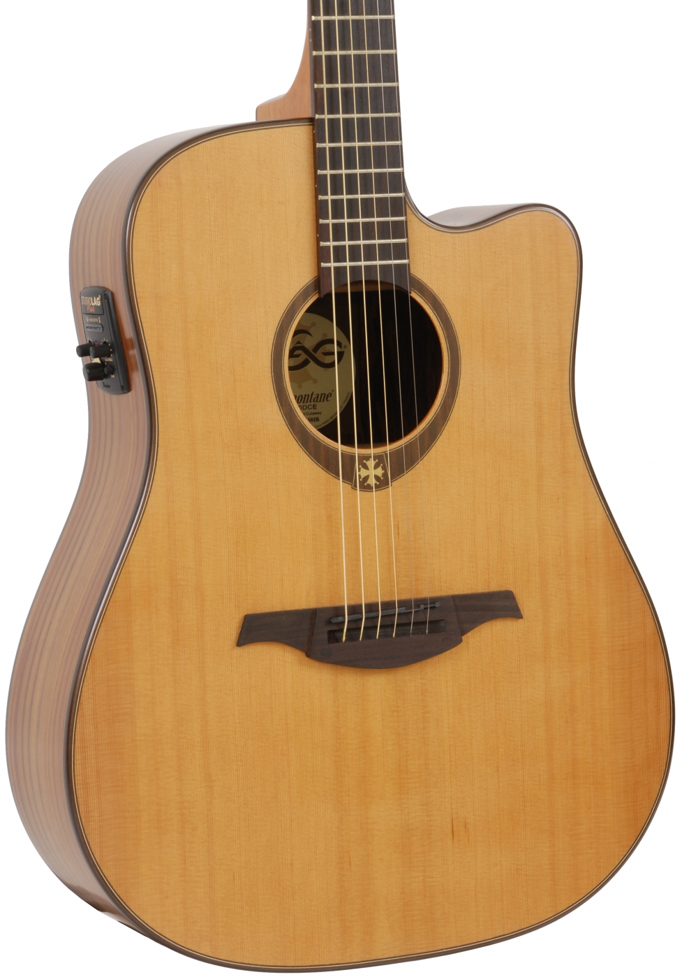 lag gla t300dce acoustic guitar with eq tramontane. Black Bedroom Furniture Sets. Home Design Ideas