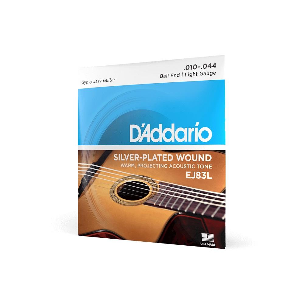 D′Addario EJ-83L acoustic guitar strings Gipsy Jazz 10-44