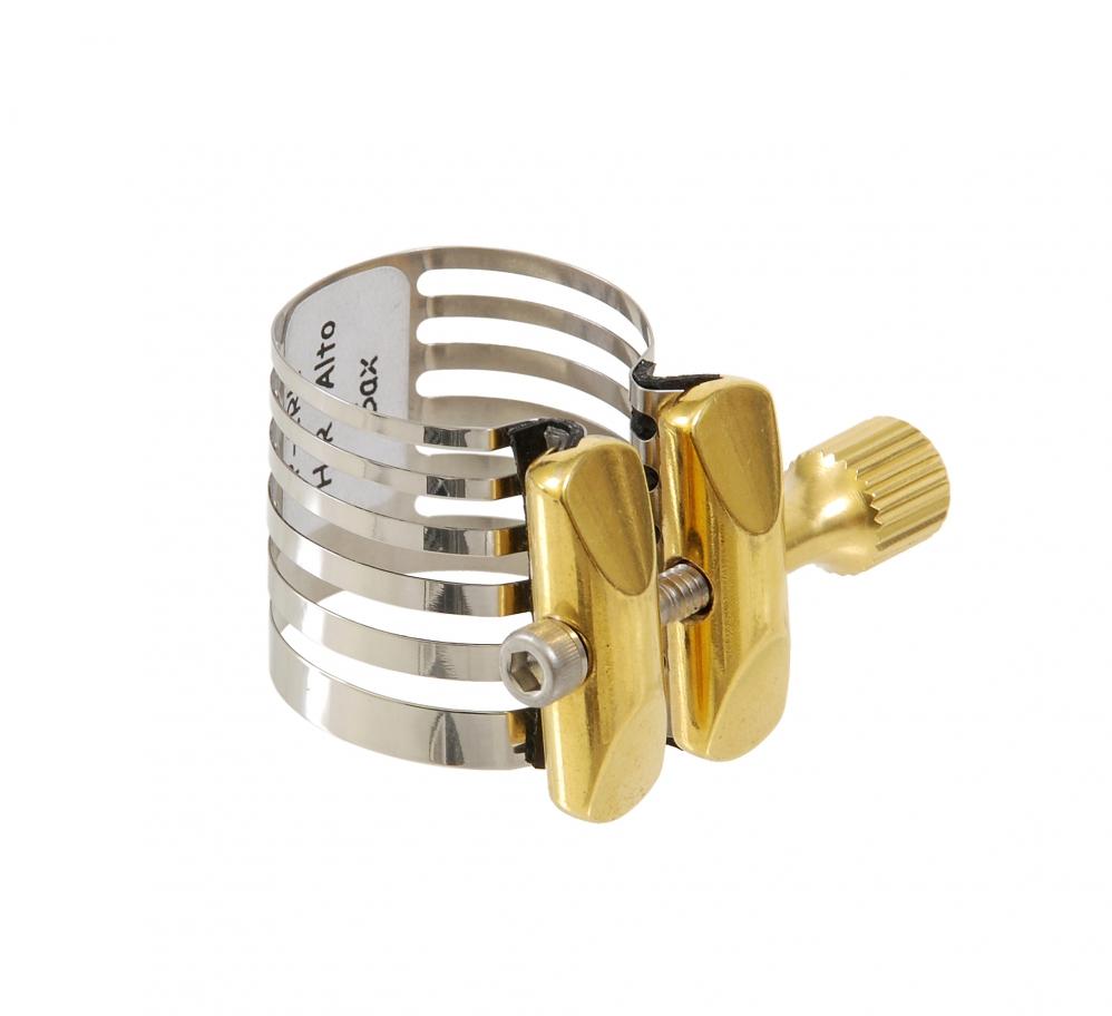 Ligature Alto Saxophone Awm Apm 334 N Asl 1 Nickel Rovner P 1rl Platinum