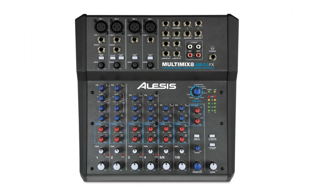 Alesis multimix 8 Usb manuale italiano