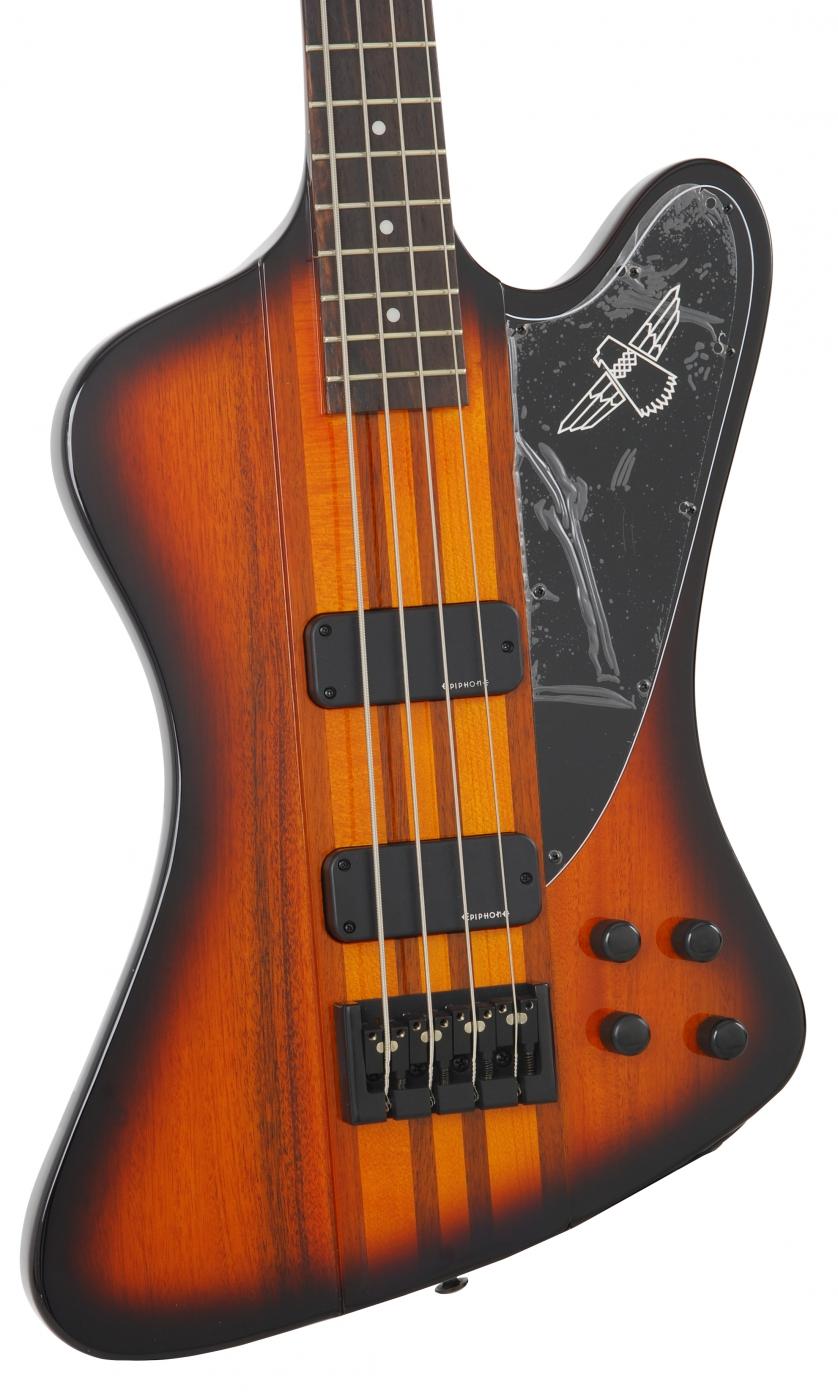 epiphone thunderbird pro iv vintage sunburst 4 string bass guitar. Black Bedroom Furniture Sets. Home Design Ideas