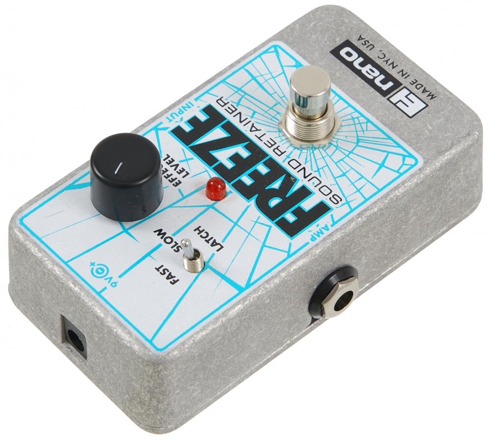 electro harmonix freeze guitar effect pedal. Black Bedroom Furniture Sets. Home Design Ideas