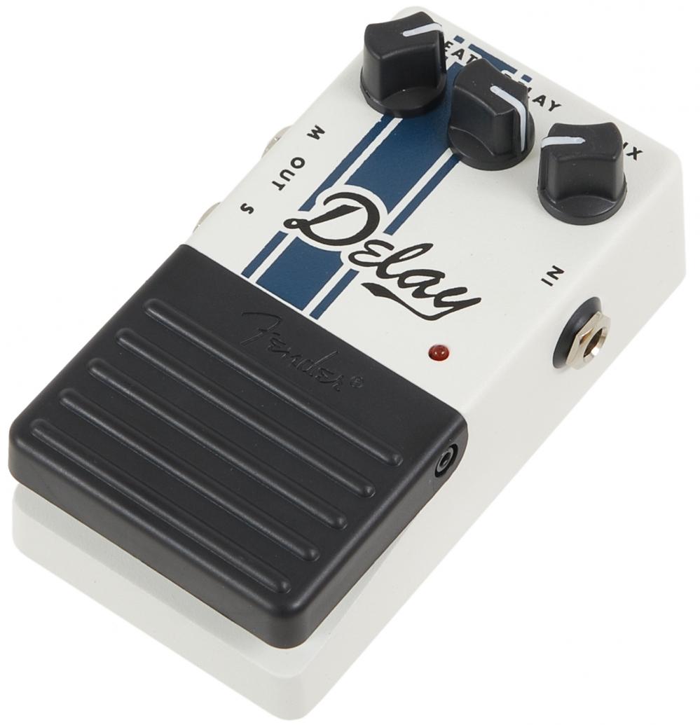 fender delay pedal guitar effect pedal. Black Bedroom Furniture Sets. Home Design Ideas