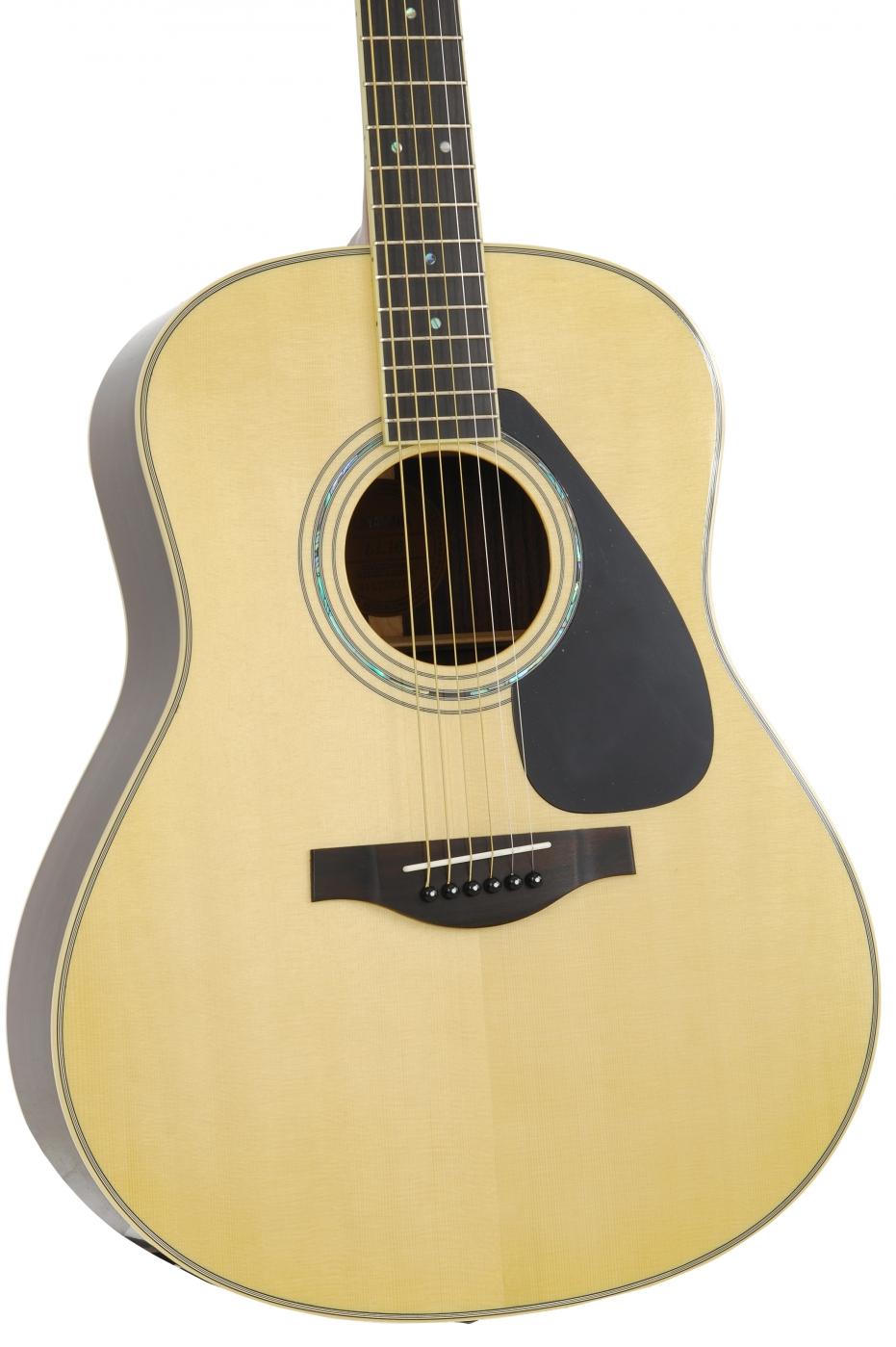 yamaha ll16 natural acoustic guitar. Black Bedroom Furniture Sets. Home Design Ideas