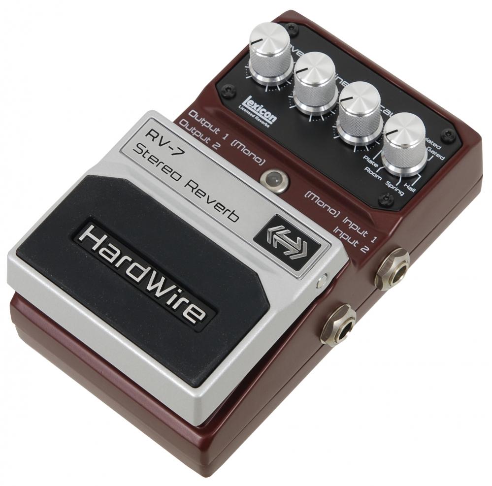 Digitech Hardwire Rv7 Stereo Reverb Guitar Effect Pedal