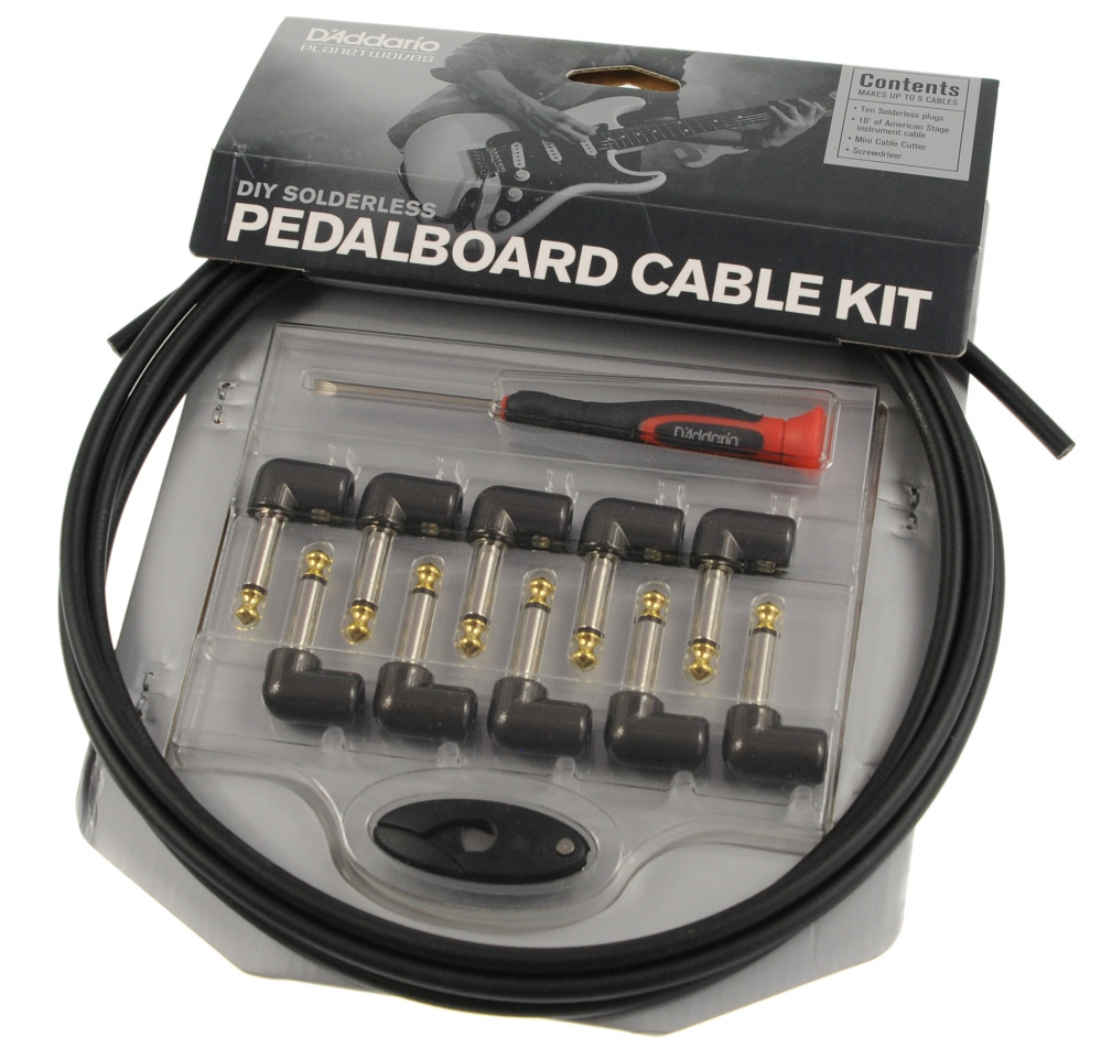 planet waves gpkit 10 pedalboard cable kit. Black Bedroom Furniture Sets. Home Design Ideas