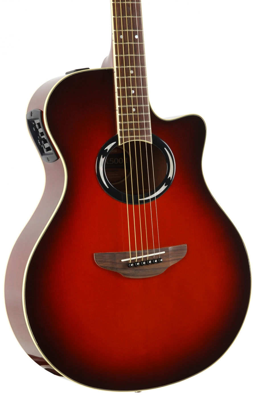 yamaha apx 500 ii drb electric acoustic guitar. Black Bedroom Furniture Sets. Home Design Ideas