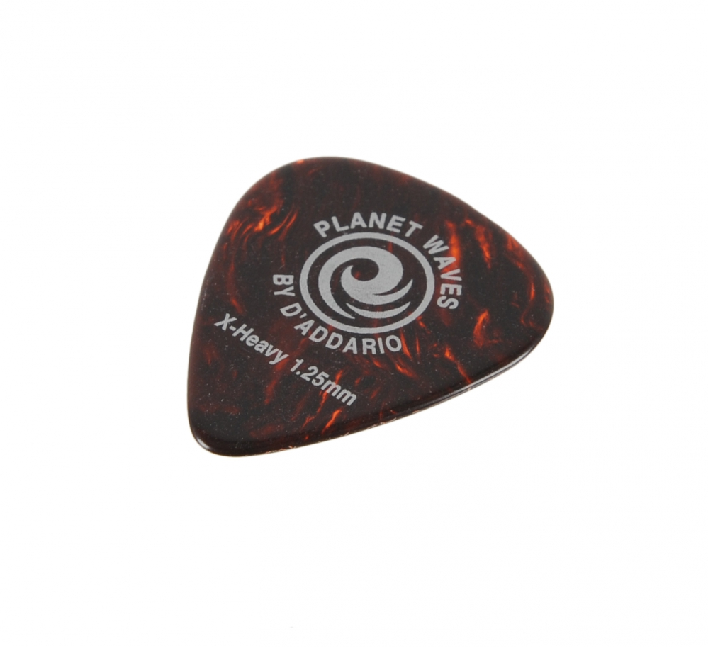 planet waves shell color celluloid extra heavy guitar pick. Black Bedroom Furniture Sets. Home Design Ideas