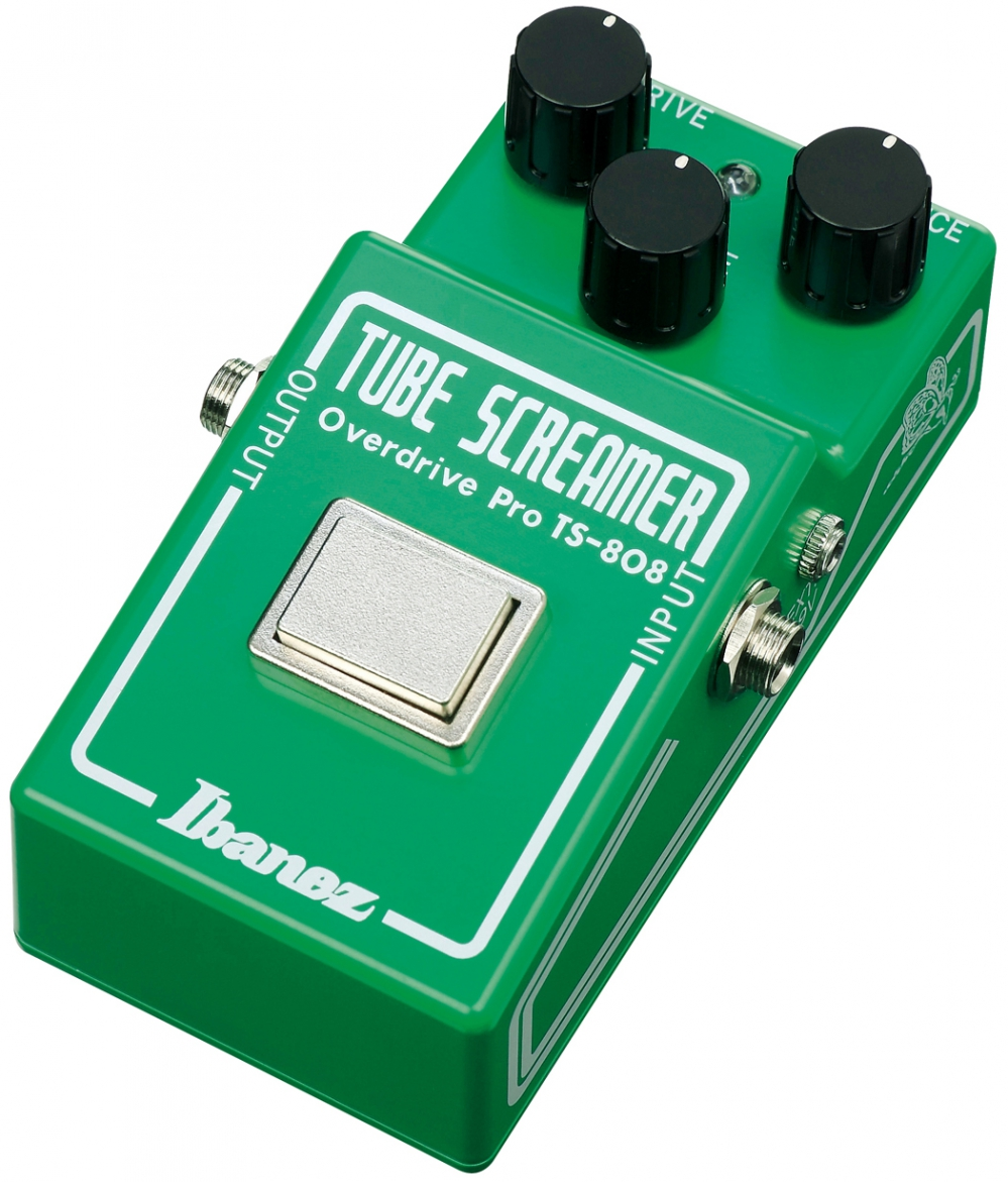 ibanez ts808 35th anniversary tube screamer guitar effects pedal. Black Bedroom Furniture Sets. Home Design Ideas