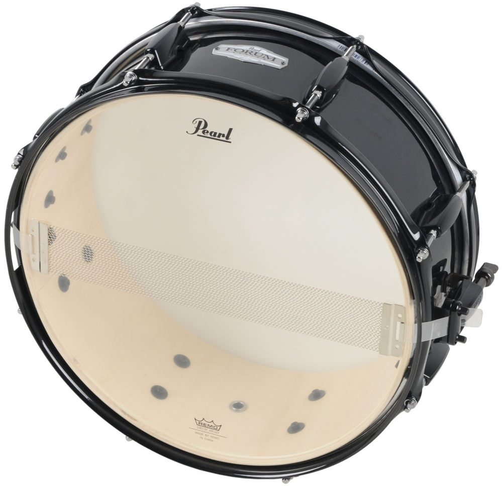 pearl fz1455s b31 forum series 14 x 5 5 snare drum black. Black Bedroom Furniture Sets. Home Design Ideas