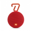 JBL Clip 2 RED Portable Bluetooth speaker, red
