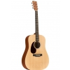 Martin DX-1R AE electric acoustic guitar, left-handed