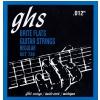 GHS Brite Flats - Electric Guitar String Set, Regular, .012-.054