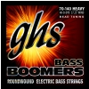 GHS Bass Boomers - Bass String Set, 4-String, Heavy, .070-.140, BEAD Tuning