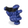 GuitarGrip Male Hand, Blue Metallic, Left