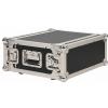 RockCase Professional Flight Case - Rack 4HE / 4HU, shallow