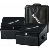 RockCase Soft Light Case - Mixer Rack 3HE / 3HU, black, 49,5 x 32 x 43 cm / 19 1/2 x 12 5/8 x 16 15/16