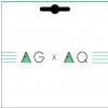 Aquila AGXAQ Ukulele String Set, GCEA Tenor, High-C