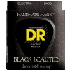 DR BKB6-30 Extra Black Beautie Medium struny do gitary basowej 030 - 125