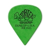 Dunlop 412P Tortex Sharp guitar pick 0.88mm