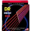 DR NRA-11 NEON Hi-Def Red Set .011-.050